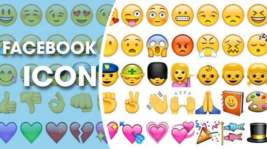 tong hop icon Facebook dep
