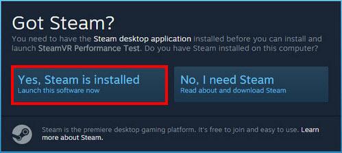 Máy tính của bạn đã sẵn sàng cho SteamVR