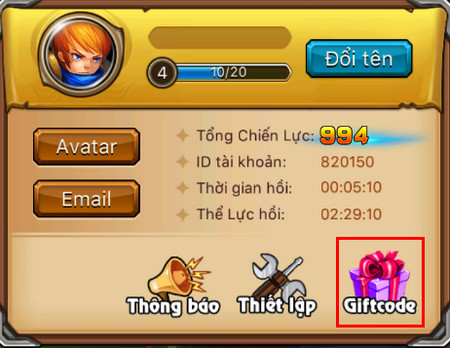 giftcode lol arena