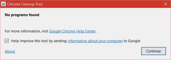 Sửa lỗi Chrome cập nhật không thành công