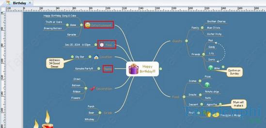 Cách vẽ sơ đồ tư duy bằng Edraw Mind Map 4