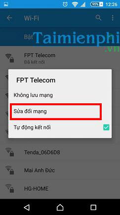 doi ip cho android