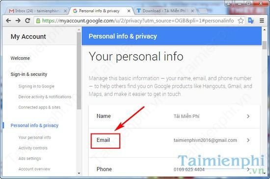 them email khoi phuc gmail