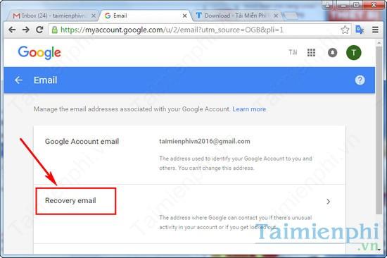 them sdt khoi phuc gmail