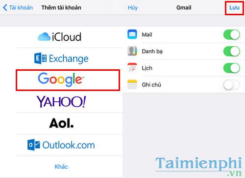 Chuyển dữ liệu danh bạ, tin nhắn, hình ảnh, video từ Android sang iPhone, iPad 3