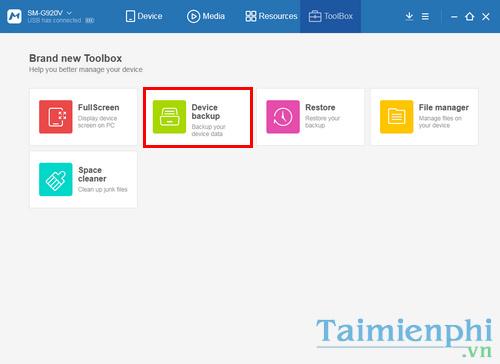 Chuyển dữ liệu danh bạ, tin nhắn, hình ảnh, video từ Android sang iPhone, iPad 8