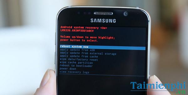 Khôi phục cài đặt Android, phục hồi cài đặt gốc điện thoại Android, re