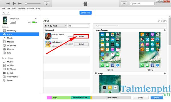 tai app cho iphone