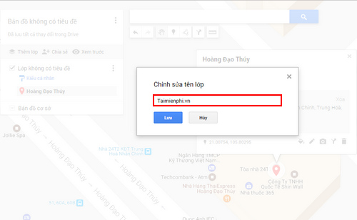 cach chia se ban do google maps voi ban be