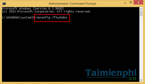 How to clear cache windows 8
