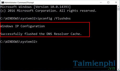 How to clear cache dns windows 10