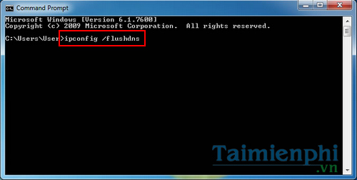 Clear cache windows 7