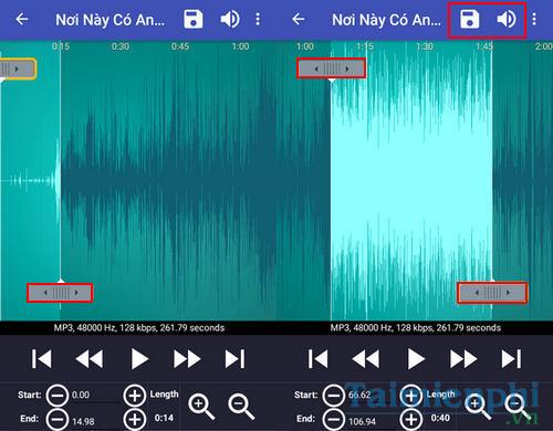 Cài nhạc chuông Nơi Này Có Anh trên điện thoại iPhone, Android, Samsung, Oppo, Sony