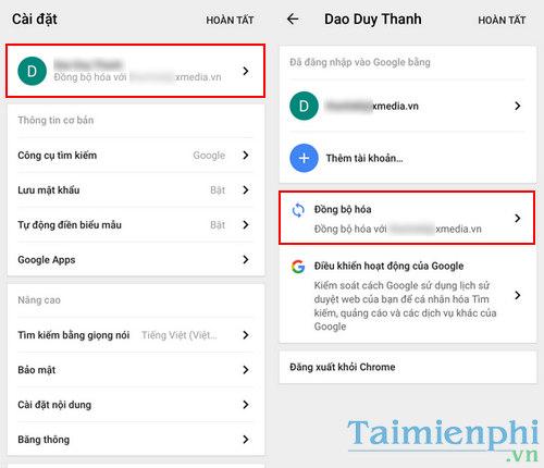 Đồng bộ bookmarks Chrome từ máy tính sang điện thoại iPhone, Android