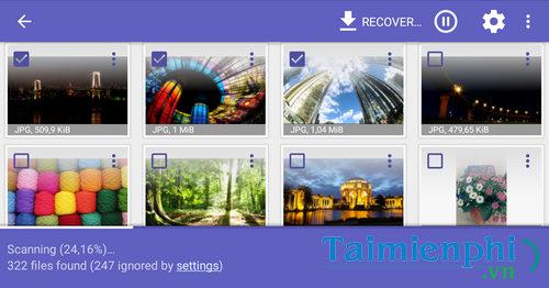 Cách khôi phục hình ảnh, phục hồi video bị xóa trên Android 9