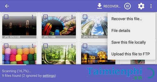 Cách khôi phục hình ảnh, phục hồi video bị xóa trên Android 10