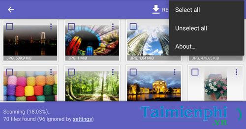 Cách khôi phục hình ảnh, phục hồi video bị xóa trên Android 11