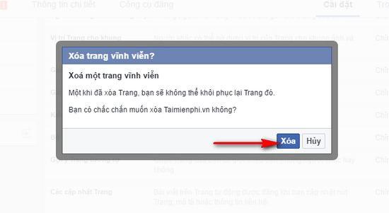 Hướng dẫn xóa fanpage Facebook nhanh nhất