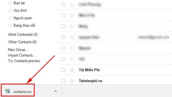 xuat danh ba tu google mail