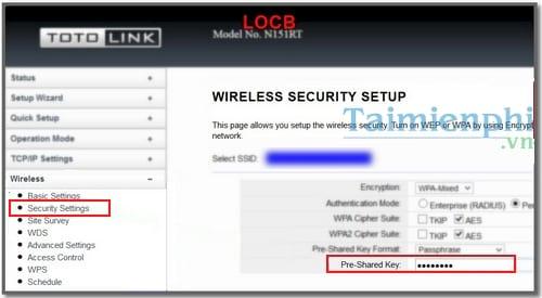 đổi pass wifi mạng Viettel