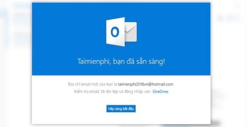 dang ky email, tao tai khoan email