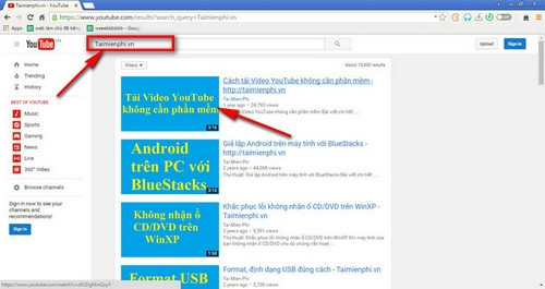 tai video youtube tren torch browser