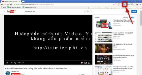 Tải video Youtube trên Torch Browser không cần phần mềm