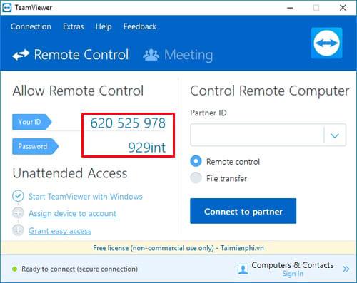 Cách cài Teamviewer, setup Teamview kết nối máy tính từ xa 10