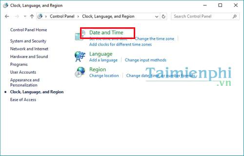 Cách chỉnh lại thời gian máy tính, ngày tháng năm, giờ bị sai 3