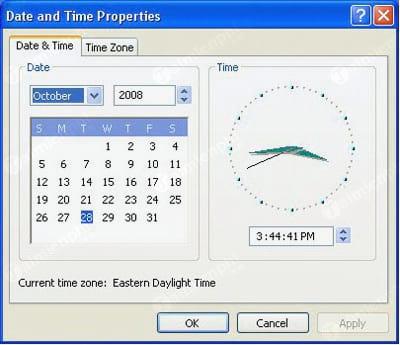Cách chỉnh lại thời gian máy tính, ngày tháng năm, giờ bị sai 13