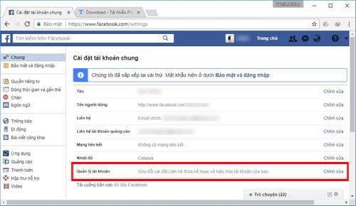 Xóa tài khoản Facebook tạm thời và vĩnh viễn 17