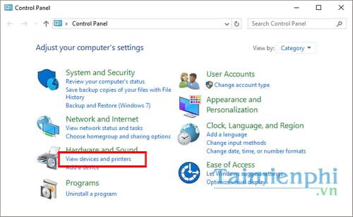 Hướng dẫn chia sẻ máy in trong mạng LAN windows 10, 7, XP 2
