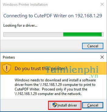 Hướng dẫn chia sẻ máy in trong mạng LAN windows 10, 7, XP 14