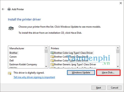 Hướng dẫn chia sẻ máy in trong mạng LAN windows 10, 7, XP 21