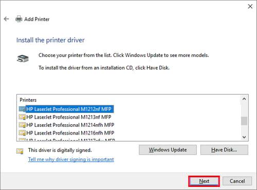 Hướng dẫn chia sẻ máy in trong mạng LAN windows 10, 7, XP 26