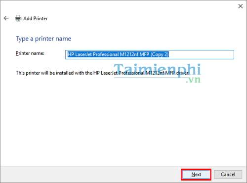 Hướng dẫn chia sẻ máy in trong mạng LAN windows 10, 7, XP 27