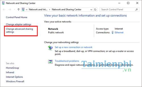 Hướng dẫn chia sẻ máy in trong mạng LAN windows 10, 7, XP 6