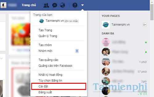 Đổi mật khẩu Facebook, thay password Facebook 2