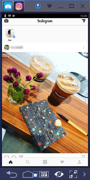 su dung instagram tren may tinh