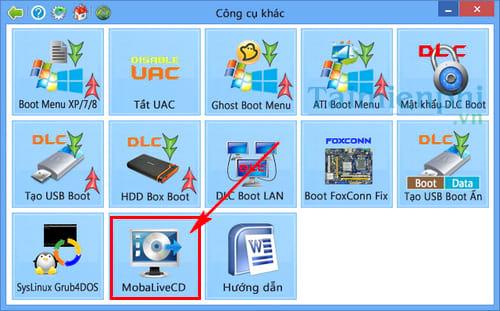 Cách tạo USB Boot bằng Grub4dos giúp cài đặt, sửa lỗi hệ điều hành 8