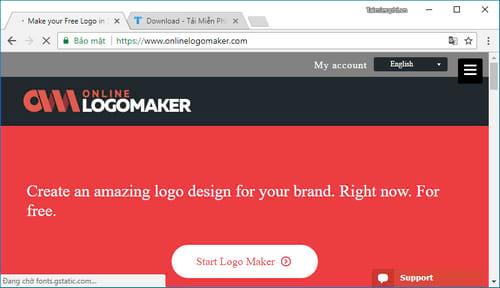 Tạo Logo, top website thiết kế logo online, trực tuyến tốt nhất