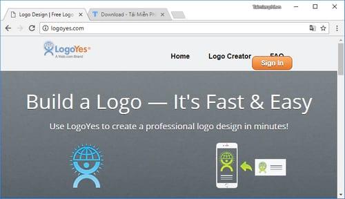 website tao logo online