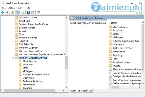 Cách tắt Windows Defender trên Windows 10 11