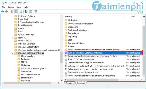 Cách tắt Windows Defender trên Windows 10 12