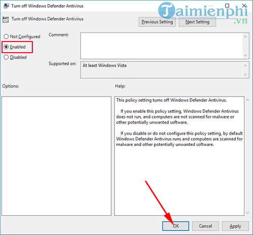 Cách tắt Windows Defender trên Windows 10 13