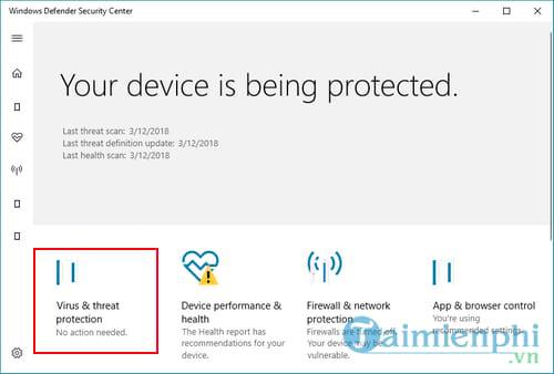 Cách tắt Windows Defender trên Windows 10 2