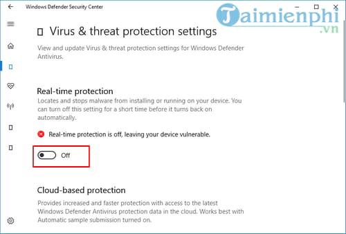 Cách tắt Windows Defender trên Windows 10 4