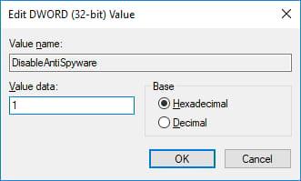 Cách tắt Windows Defender trên Windows 10 9