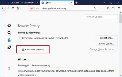 Cách quản lý và lấy mật khẩu trang web đã lưu trên Firefox và Chrome