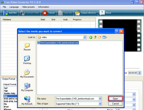 how to turn a vob file into an mp4